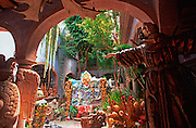 MEXICO, SAN MIGUEL ALLENDE antiques and crafts in Casa Canela shop