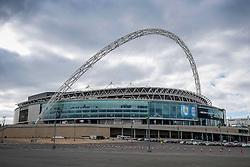 Wembley Stadium with Bristol City branding before the match - Photo mandatory by-line: Rogan Thomson/JMP - 07966 386802 - 22/03/2015 - SPORT - FOOTBALL - London, England - Wembley Stadium - Bristol City v Walsall - Johnstone's Paint Trophy Final.