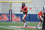 Barry Brunetti at Ole Miss' Grove Bowl at Vaught-Hemingway Stadium in Oxford, Miss. on Saturday, April 13, 2013.