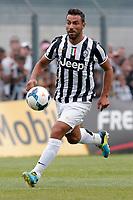 Fabio Quagliarella Juventus, Saint Vincent 17/7/2013 <br /> Partita amichevole Juventus vs Dilettanti Valdostani<br /> Football Calcio 2013/2014 Serie A<br /> Foto Marco Bertorello Insidefoto