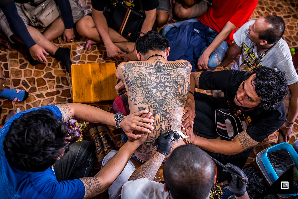Thailand - Magic Tattoos - Wai Kru festival Festival