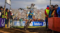 Calle FRIBERG (71,SWE) 2nd lap at Men UCI CX World Championships - Hoogerheide, The Netherlands - 2nd February 2014 - Photo by Pim Nijland / Peloton Photos