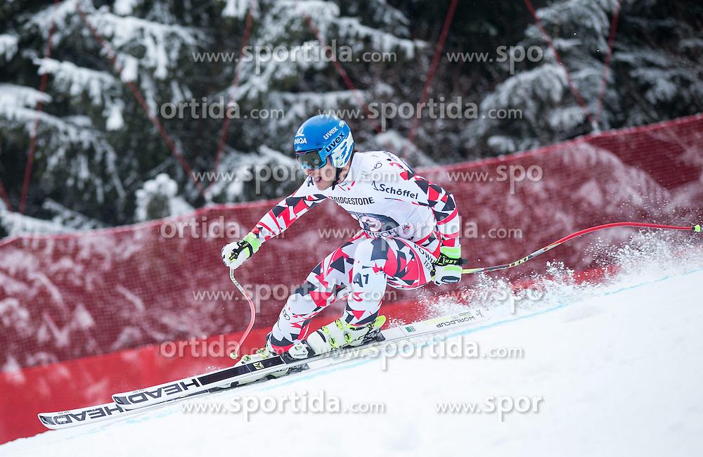 28.02.2015, Kandahar, Garmisch Partenkirchen, GER, FIS Weltcup Ski Alpin, Abfahrt, Herren, im Bild Matthias Mayer (AUT, 3. Platz) // third placed Matthias Mayer of Austria in action during the run for the men's Downhill of the FIS Ski Alpine World Cup at the Kandahar course, Garmisch Partenkirchen, Germany on 2015/28/02. EXPA Pictures © 2015, PhotoCredit: EXPA/ Johann Groder