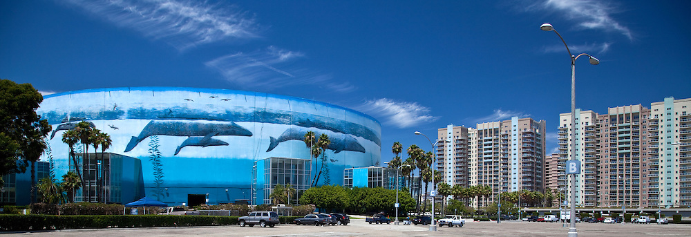 Wyland Whaling Wall Long Beach Arena