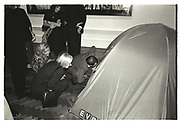TRACEY EMIN TENT, Sensation Opening. Royal Academy of Art. London.16 September 1997.