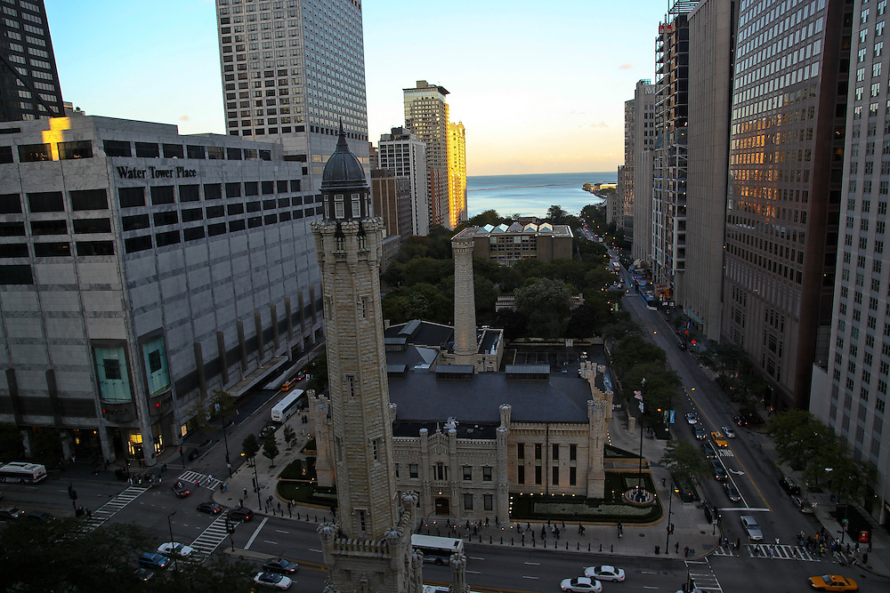 Chicago's historic Old Water Tower