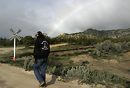 ..Greg Imus a minuteman member patrolling the U.S  border in Boulevard about 65 miles (104.6 km) east of downtown San Diego try to stop undocumented immigrants that try to cross the border to the U.S ..23 of April 2006........