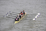 Putney/Barnes,  Great Britain,  Reading University -  2008 Head of the River Race. Raced from Mortlake to Putney, over the Championship Course.  15/03/2008  [Mandatory Credit. Peter Spurrier/Intersport Images] Rowing Course: River Thames, Championship course, Putney to Mortlake 4.25 Miles,