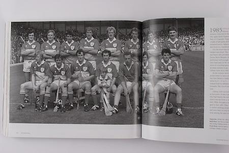 Offaly-All-Ireland Hurling Champions 1985. Back Row: Pat Fleury (capt), Joachim Kelly, Tom Conneely, Eugene Coughlan, Pat Delaney, Joe Dooley, Padraig Horan, Aidan Fogarty. Front Row: Danny Owens, Brendan Bermingham, Pat Cleary, Ger Coughlan, Jim Troy, Mark Corrigan, Paddy Corrigan.