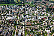 Nederland, Utrecht, Amersfoort, 30-06-2011; Kattenbroek, nieuwbouwwijk naar ontwerp van architect en stedenbouwkundige Ashok Bhalotra..Kattenbroek, new housing estate designed by architect and town planner Ashok Bhalotra..luchtfoto (toeslag), aerial photo (additional fee required).copyright foto/photo Siebe Swart