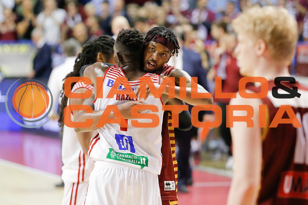 Julyan Stone Jeremy Hazell<br /> Umana Reyer Venezia - Consultinvest Pesaro<br /> Lega Basket Serie A 2016/2017<br /> Venezia 05/03/2017<br /> Foto Ciamillo-Castoria
