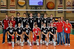 12-06-2011 VOLLEYBAL: EUROPEAN LEAGUE NETHERLANDS - AUSTRIA: ROTTERDAM<br /> Team Austria<br /> &copy;2011-FotoHoogendoorn.nl
