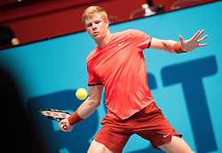 25.10.2018, Wiener Stadthalle, Wien, AUT, ATP Tour, Erste Bank Open, am Donnerstag, 25. Oktober 2018 im Rahmen der ATP - Erste Bank Open, in Wien, im Bild Kyle Edmund (GBR) // Kyle Edmund of United Kingdom during the Erste Bank Open of ATP Tour at the Wiener Stadthalle in Wien, Austria on 2018/10/25. EXPA Pictures © 2018, PhotoCredit: EXPA/ Michael Gruber