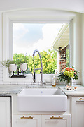 Farmhouse kitchen sink photo by Brandon Alms Photography