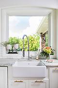 Farmhouse kitchen sink photo by Brandon Alms Photography