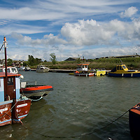 Boats in Queenborough, Isle of Sheppey, Kent
