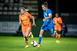 Mateja Zver of Slovenia during football match between Slovenia and Nederland in qualifying Round of Woman's qualifying for EURO 2021, on October 5, 2019 in Mestni stadion Fazanerija, Murska Sobota, Slovenia. Photo by Blaž Weindorfer / Sportida