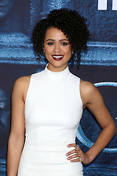 Nathalie Emmanuel at the Game of Thrones Season 6 Premiere Screening at the TCL Chinese Theater IMAX on April 10, 2016 in Los Angeles, CA. EXPA Pictures © 2016, PhotoCredit: EXPA/ Photoshot/ Kerry Wayne<br /> <br /> *****ATTENTION - for AUT, SLO, CRO, SRB, BIH, MAZ, SUI only*****