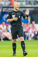 ALKMAAR - 10-09-2016, AZ - Willem II, AFAS Stadion, 2-0,  scheidsrechter Bjorn Kuipers.