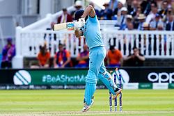 Jonny Bairstow of England is bowled by Lockie Ferguson of New Zealand - Mandatory by-line: Robbie Stephenson/JMP - 14/07/2019 - CRICKET - Lords - London, England - England v New Zealand - ICC Cricket World Cup 2019 - Final