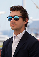 Actor Shia Labeouf at the American Honey film photo call at the 69th Cannes Film Festival Sunday 15th May 2016, Cannes, France. Photography: Doreen Kennedy