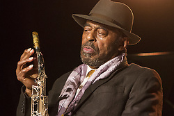 April 26, 2018 - Turin, Italy - Torino, Italy. 26th April 2018. American jazz saxophonist Archie Shepp in concert at Torino Jazz Festival (Credit Image: © Marco Destefanis/Pacific Press via ZUMA Wire)