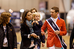 Ward Mclain, USA, Lauren Ward, Lilly Ward<br /> Longines FEI World Cup Jumping Final IV, Omaha 2017 <br /> © Hippo Foto - Stefan Lafrentz<br /> 02/04/2017