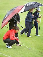 Biddinghuizen - Voorjaarswedstrijd dames 2007, Regen, Enorme regenbuien.