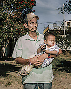 "Edgar Estrada Reyes, 38 wife disappeared in June and has not been heard from. ""I live with the fear that anytime they'll tell my wife to go look for me and take me too,"" he said. He has since moved farther up into the country side to protect himself and his children. ""I was very afraid at the beginning to file a report. Even here with cops I'm afraid. Who wouldn't be? We don't know who to trust,"" he added."