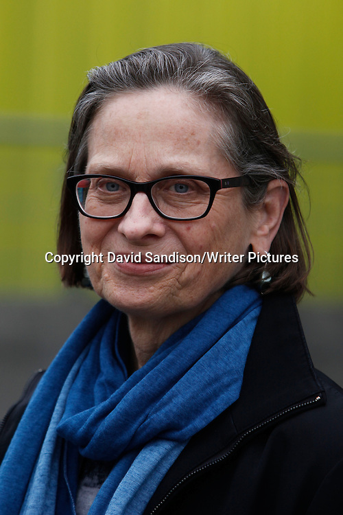 Lydia Davis, one of seven finalists for the Man Booker International Prize 2013 at the Southbank Centre, London.<br /> 20th May 2013<br /> <br /> Photograph by David Sandison/Writer Pictures<br /> <br /> WORLD RIGHTS