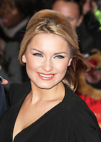 LONDON - NOVEMBER 14: Sam Faiers attended the UK Film Premiere of 'The Twilight Saga: Breaking Dawn - Part Two', Empire cinema, Leicester Square, London, UK. November 14, 2012. (Photo by Richard Goldschmidt)