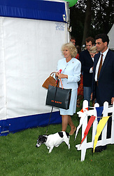 HRH The DUCHESS OF CORNWALL at the 3rd annual Macmillan Dog Day in aid of Macmillan Cancer Relief held at Royal Hospital Chelsea, London SW3 on 5th July 2005.<br /><br />NON EXCLUSIVE - WORLD RIGHTS