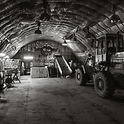 Interior of the Waste Barn, McMurdo Station