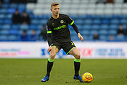 Forest Green Rovers Nathan McGinley(19) on the ball during the EFL Sky Bet League 2 match between Oldham Athletic and Forest Green Rovers at Boundary Park, Oldham, England on 12 January 2019.