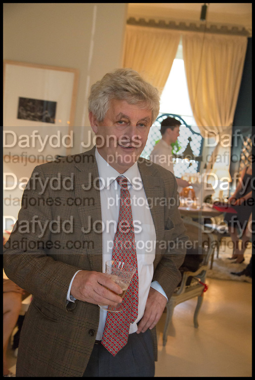 JAMES HUGHES-ONSLOW, Nicky Haslam hosts a party to launch a book by  Maureen Footer 'George Stacey and the Creation of American Chic' . With a foreword by Mario Buatta. Kensington. London. 11 June 2014