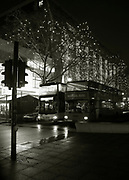 Berlin,  GERMANY,   Street Photo. Location,  General view on the Kurf¸rstendamm,  Christmas Decorations.    <br /> <br /> Wednesday  27/11/2013<br /> <br /> [Mandatory Credit: © Peter SPURRIER]<br /> <br /> NIKON - COOLPIX P7000 - 1/18 - f2.8  4.1MB MB