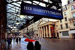 London's theatre district.