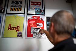 Portrait of Slovenian former cyclist Primoz Cerin, on August 9, 2018 in Ljubljana, Slovenia. Photo by Urban Urbanc / Sportida