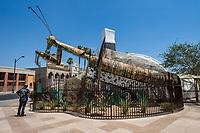 Praying Mantis Sculpture @ Container Park