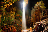 Malaysian Borneo, Light in Niah Cave