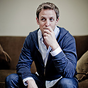 Correspondent's Dinner host and SNL head writer Seth Meyers, photographed in his office on Friday, April 8, 2011 in New York.