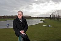 SCHIPLUIDEN - Direkteur Herman van der Vlis van Golfbaan Delfland in Schipluiden. FOTO KOEN SUYK