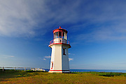 Perce Lighthouse<br /> Perce<br /> Quebec<br /> Canada