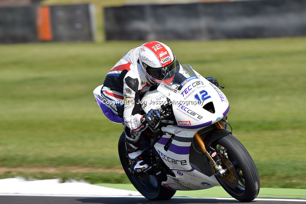 #12 Luke Mossey Techcare/Profile Triumph British Supersport
