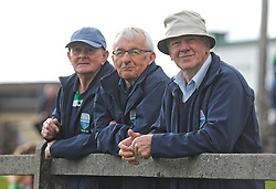 Watching the Mayo Junior Championship match between Achill and Knockmore were Marty Gallagher, Martin Lavelle and Tommy Gallagher.<br /> Pic Conor McKeown