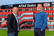 ALKMAAR - directie AZ, Earnest Stewart, Robert Eenhoorn, AFAS Stadion.