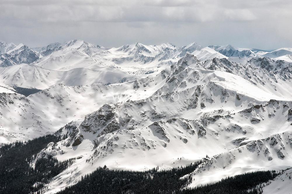 Lake County, Colorado. Early Spring Rocky Mountains.  April 2014