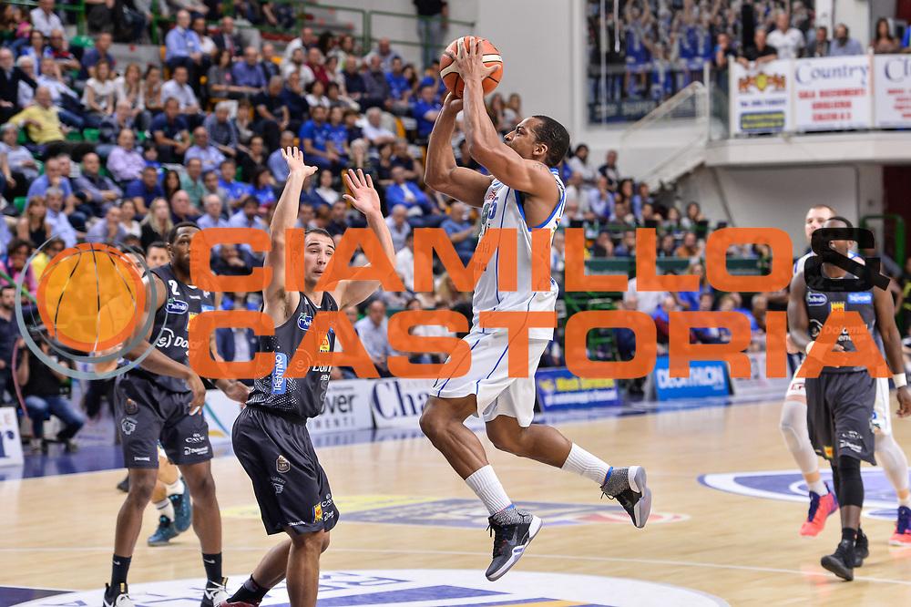David Bell<br /> Banco di Sardegna Dinamo Sassari - Dolomiti Energia Aquila Basket Trento<br /> Legabasket Serie A LBA Poste Mobile 2016/2017<br /> Playoff Quarti Gara3<br /> Sassari 16/05/2017<br /> Foto Ciamillo-Castoria