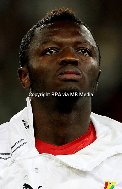 Football Fifa Brazil 2014 World Cup / <br /> Ghana  National Team - <br /> Sulley MUNTARI  of Ghana