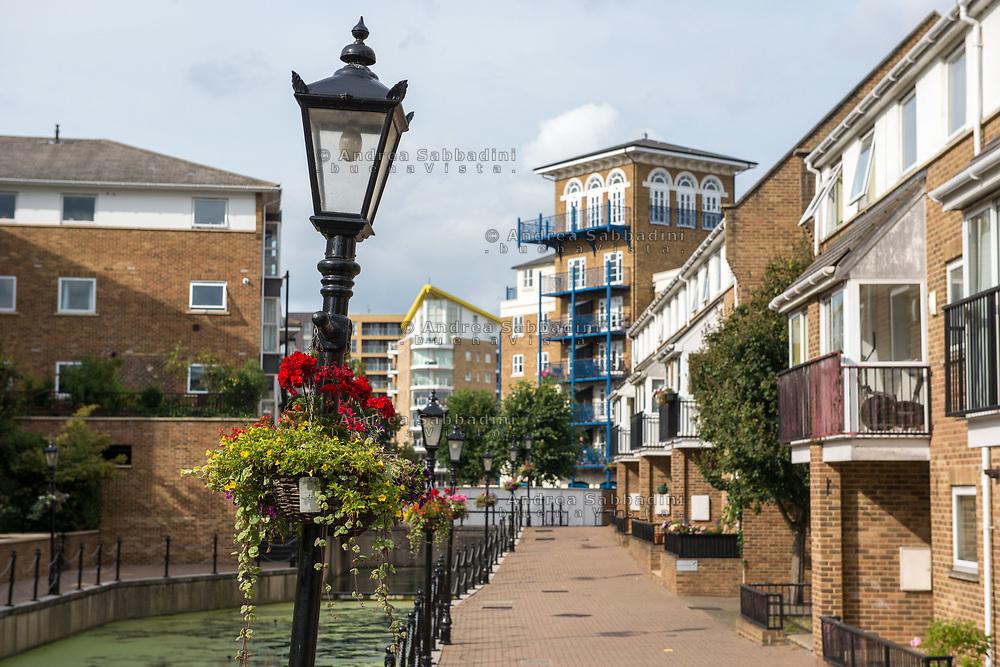 Londra, 23/08/2017: Limehouse.<br /> &copy; Andrea Sabbadini